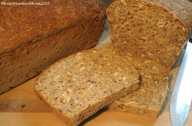Seeded Wholemeal Quick Bread